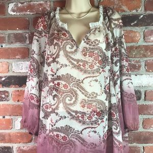 Unbranded sheer tunic size XL